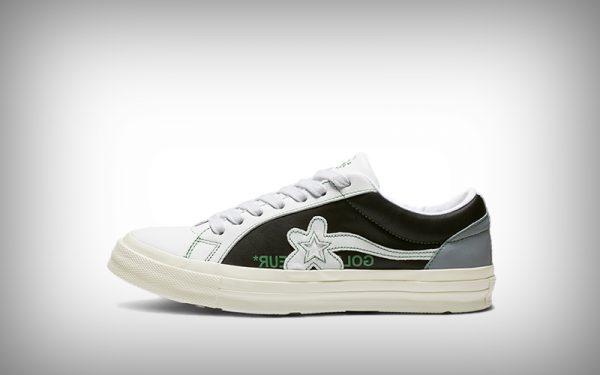 sneaker converse bloem wit