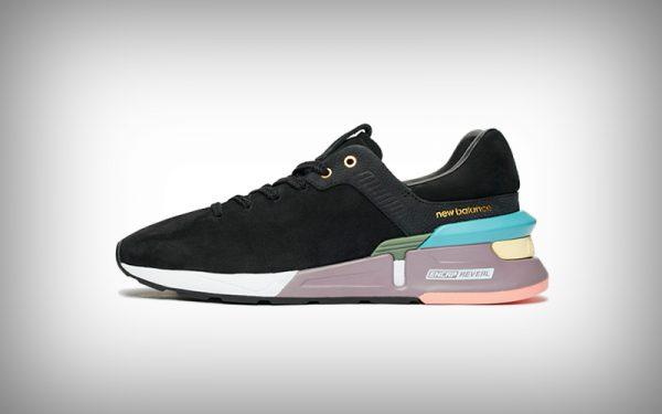 sneaker - new balance zwart