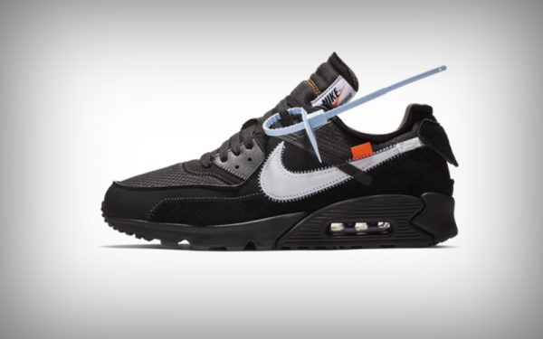 sneaker - nike off white zwart