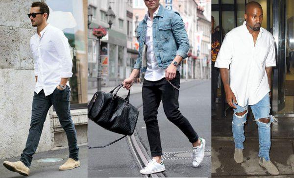 Zo draag je een wit overhemd