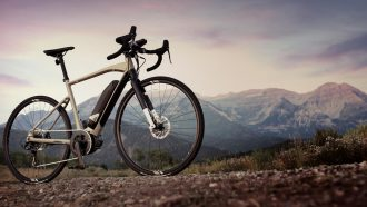 Elektrische fiets e-mountainbike Yamaha