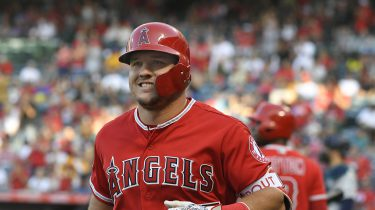 Honkballer Mike Trout record contract