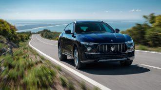 Maserati Levante rijtest