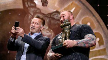 hafthor bjornsson The Mountain Game of Thrones Arnold Schwarzenegger deadlift record