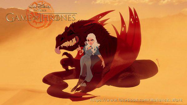 game of thrones, karakters, disney