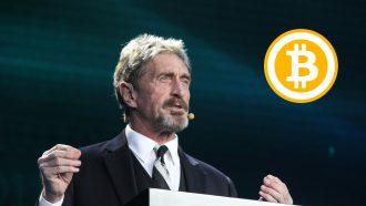 Bitcoin creditcard John McAfee