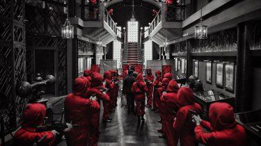 La Casa de Papel Netflix escape room