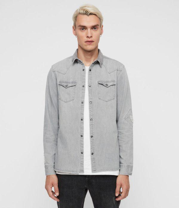 denim shirt allsaints