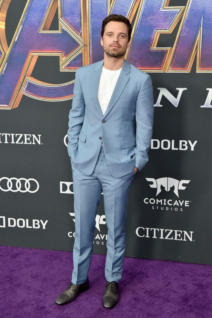 Sebastian Stan, avengers endgame, première, 5 best geklede mannen