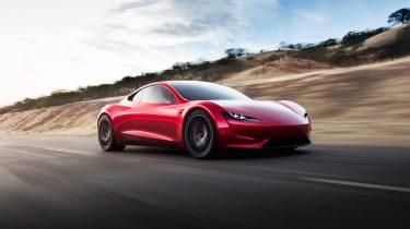 Tesla Roadster acceleratie