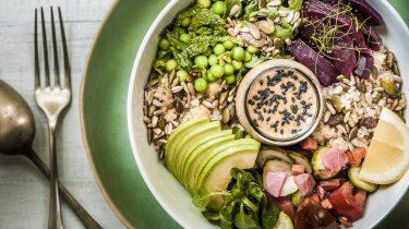 vegan dieet spieropbouw