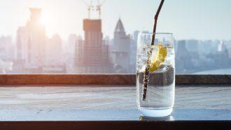 Water met citroen drinken afvallen