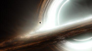 Eerste foto zwart gat