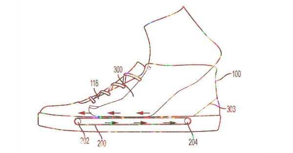 nike, sneakers, loopband, patent