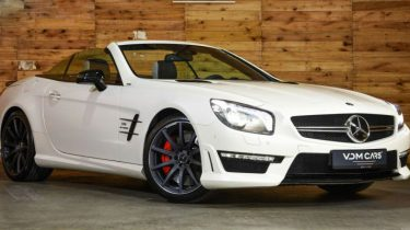 Mercedes SL 63 AMG header