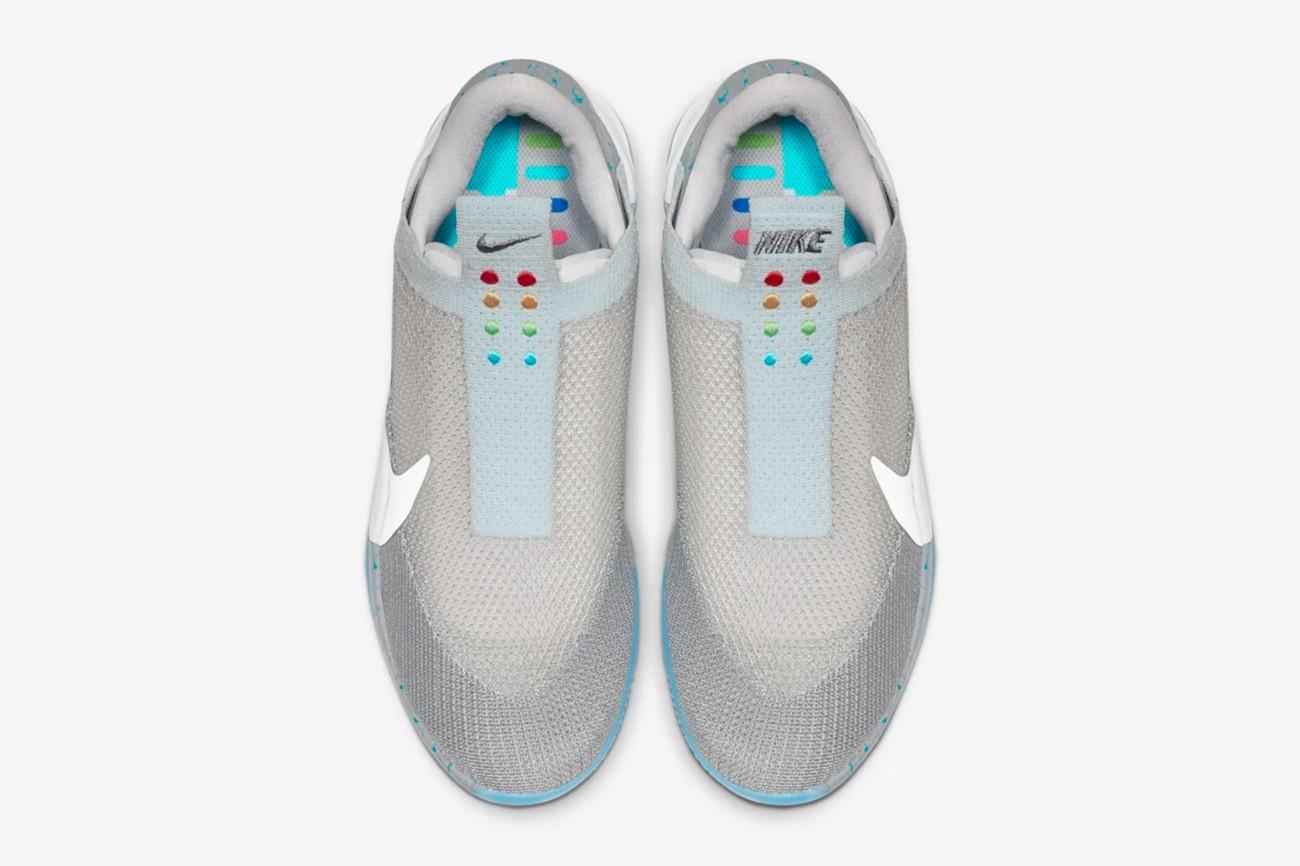 Nike Hyper Adapt, back to the future, zelf-veterende sneakers, kleuren, marty mcfly, mag