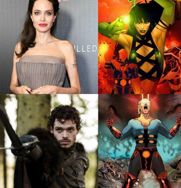 avengers, eternals, marvel, phase 4, angelina jolie, sersei, richard madden, ikaris