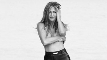 jennifer aniston, topless, harper's bazaar, shoot