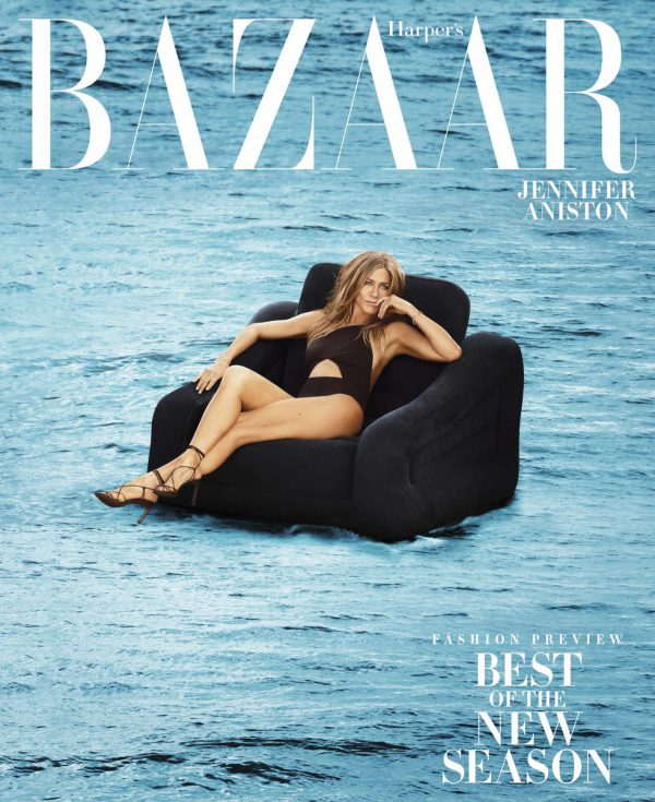 jennifer aniston, topless, harpers bazaar, shoot, sexy