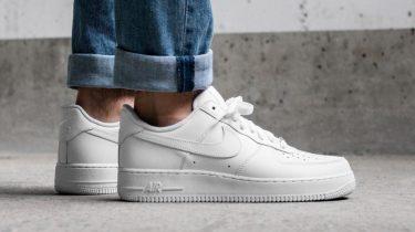 nike-air-force-1-07, witte sneakers, 2019, minder dan, onder, 100 euro, goedkoop, betaalbaar