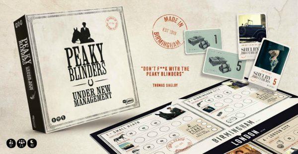 peaky blinders, bordspel