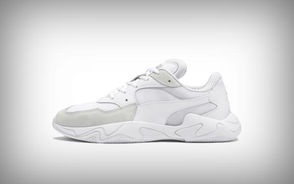 sneaker puma wit