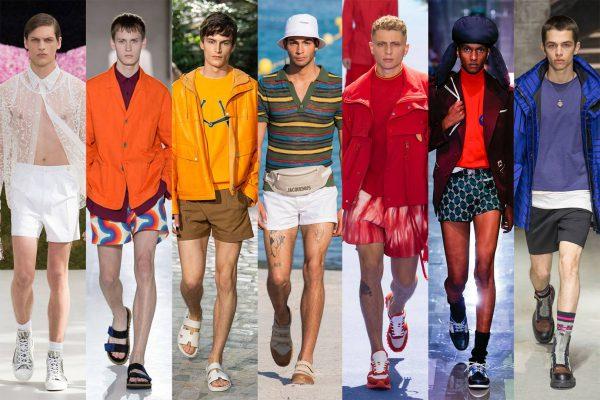 trends, modetrends, mannen, lente, zomer, 2019, patronen, korte broeken