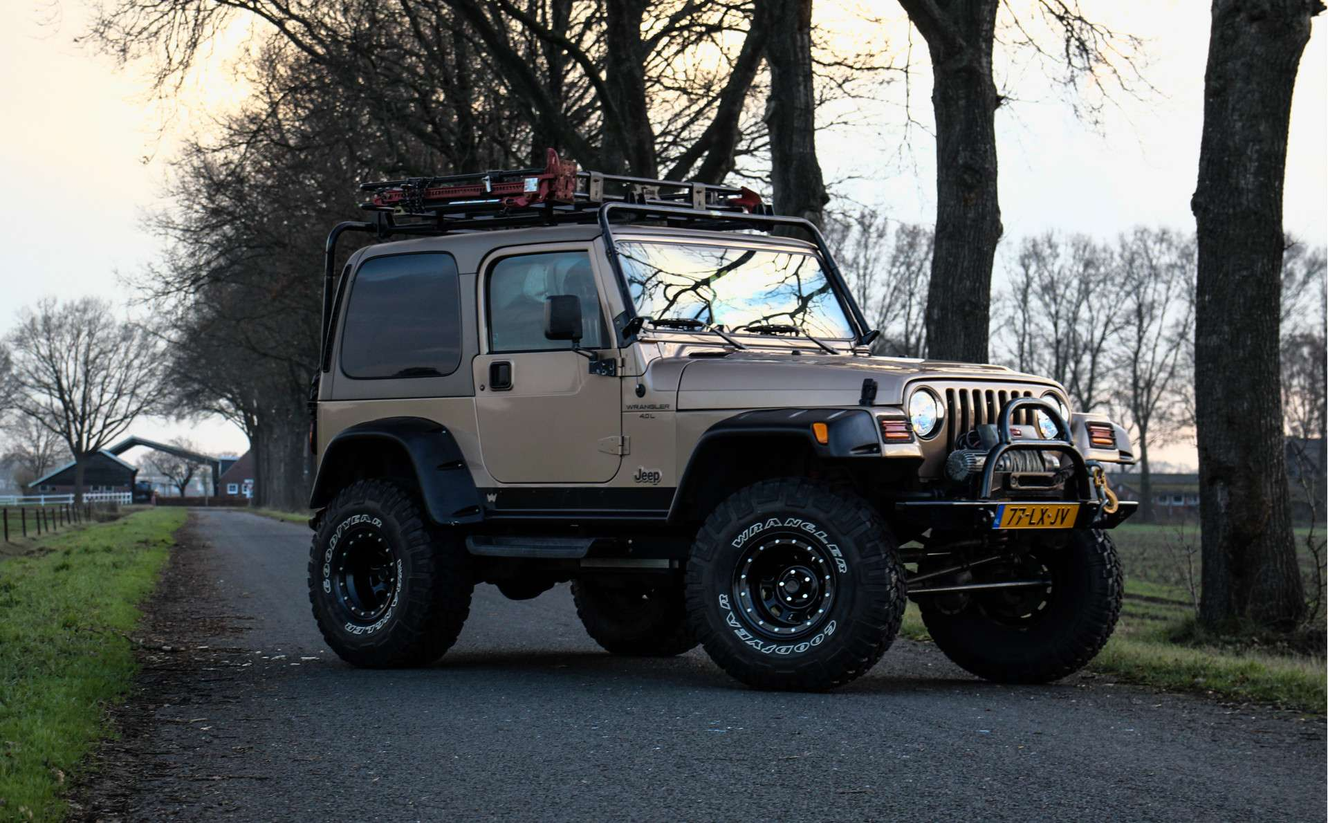 Tweedehands Jeep Wrangler Safari Edition