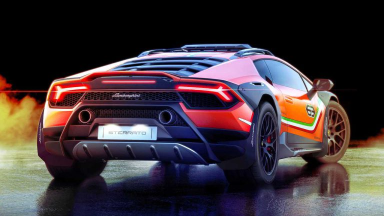 Met deze offroad Lamborghini Huracan Sterrato is geen terrein te ruig