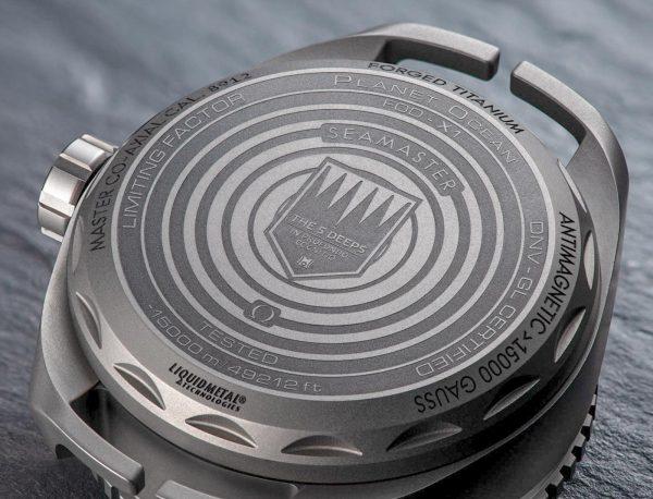 Omega Seamaster Planet Ocean Ultra Deep Professional, diepste, wereldrecord, duikhorloge, horloge
