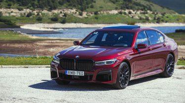 BMW M760li roadtrip