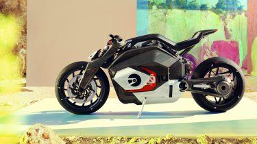 BMW Vision DC Roadster elektrische motor