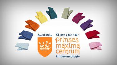 Carlo Lanza sokken goede doel Prinses Máxima Centrum
