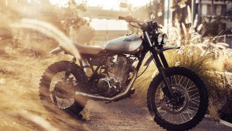 Deus Ex Machina SR500 custom bike