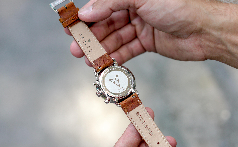 Renard horloge