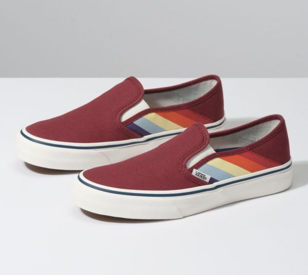 Rad Rainbow Slip-on SF, sneakers, pride maand, 2019, regenboog