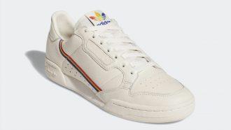 Adidas Originals Continental 80 Pride, sneakers, pride maand, 2019, regenboog