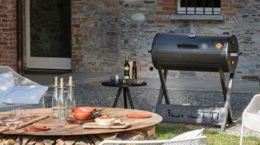 Boretti Barilo barbecue, fonq