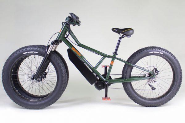 elektrische fiets, e-bike, fatbike, rungu, Juggernaut Rubicon Trail Edition