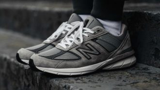 new balance 990, new balance 990v5, sneakers, dad shoes, edities, steve jobs