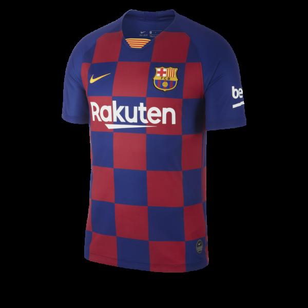 nieuw, uitshirt, fc barcelona, gelekt, shirt, geel, johan cruijff, seizoen 2019-2020, thuisshirt, geblokt