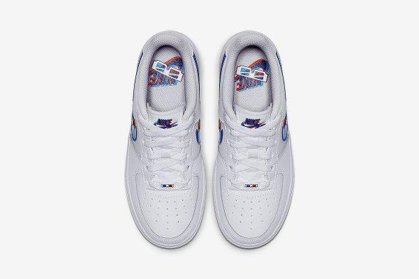 3D Nike Air Force 1 sneakers