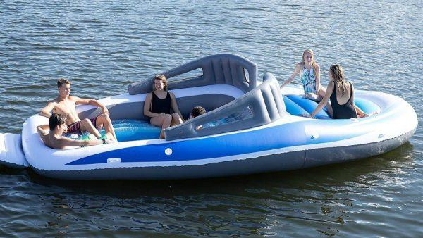 opblaasbare speedboot, hittegolf