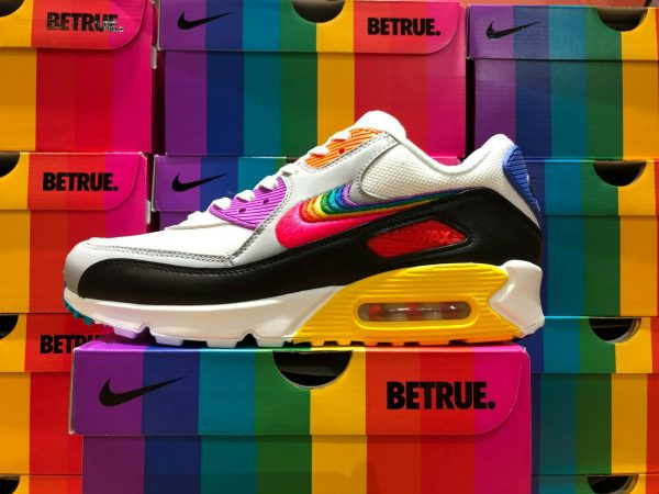 sneakers, pride week, 2019, Nike Air Max 90 QS 'BETRUE'