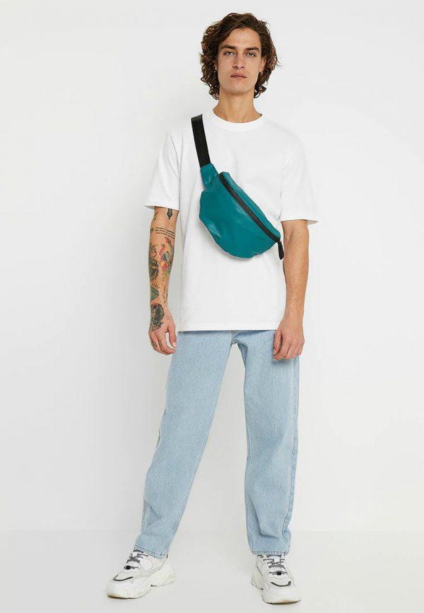 zalando, t-shirt, jeans, basic outfit, uniek, wit T-shirt
