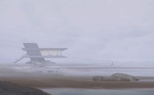 Atelier Monolit, strandhuis, architectuur