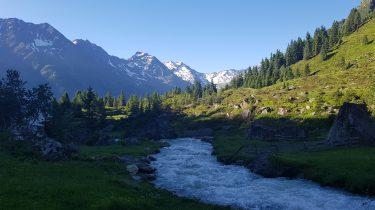 stubai, oostenrijkse alpen, zomer, vriendenuitje