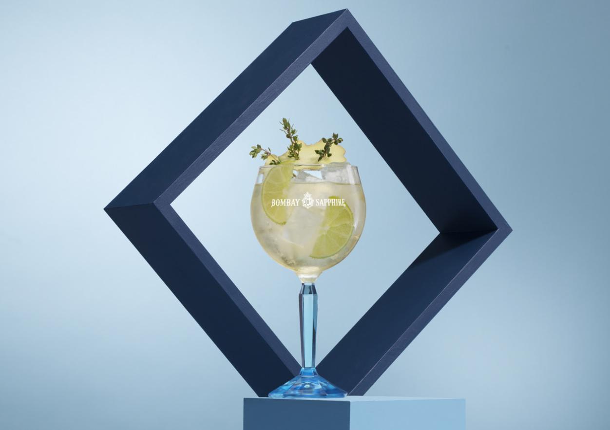 Bombay Sapphire Gin Lavarstroke