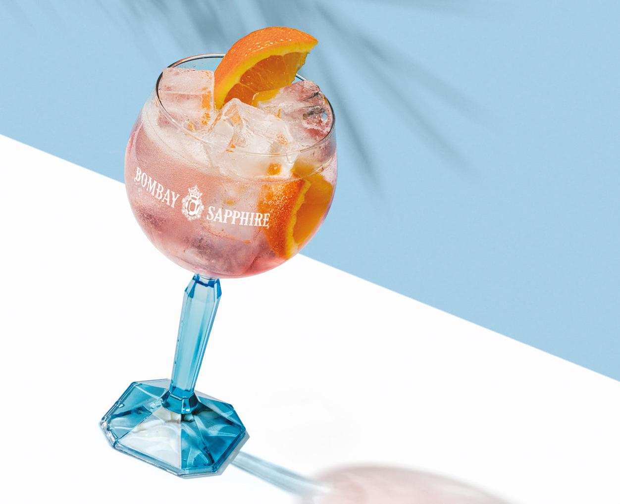 Bombay Sapphire Gin Rose Spritz