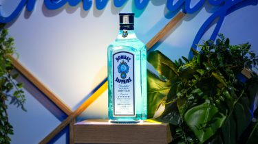 Bombay Sapphire gin cocktails